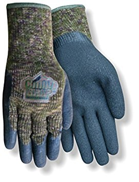 Red Steer Chilly Grip The Original Camo A313 Heavyweight Thermal-Lined Full-Fingered Work & General Purpose Gloves, Camo/Black [PRICE is per PAIR] - Chilly Grip