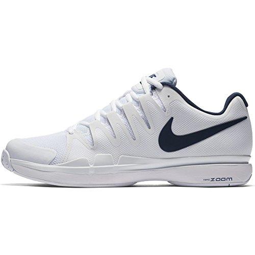 Zapatillas De Tenis Nike Zoom Vapor 9.5 Tour Para Hombre (colores De Invierno 2017) Blanco / Azul Binario