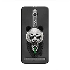 Cover it up Panda Boss Hard Case for Asus Zenfone 2 - Multi Color