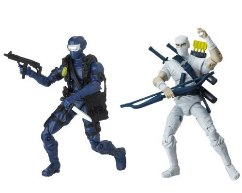 G.I. Joe 25th Anniversary Comic Pack - Snake Eyes Versus Storm Shadow - Silent Interlude