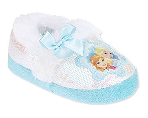 Disney Frozen Toddler Preschool Girls Anna Elsa Slippers