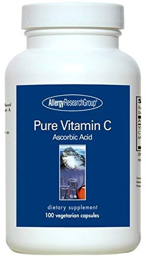 Allergy Research Group - Pure Vitamin C 1000 mg 100 caps Allergy Vitamin C Vitamins
