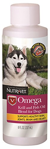 Nutri-Vet Omega Krill & Fish Oil