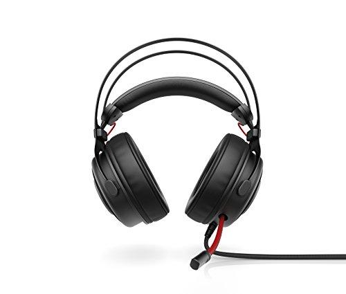 HP Omen 800 – Auriculares para gaming con micrófono (PC/juegos, binaurale, diadema, alámbrico, circumaural), color negro…