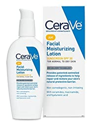 CeraVe Facial Moisturizing Lotion AM -- 3 fl oz (Pack of 2)