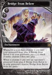 Magic: the Gathering - Bridge from Below - Future Sight (Mtg Bridge From Below)