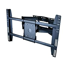 Adjustable Tilting/Swiveling Wall Mount Bracket for LCD Plasma (Max 200Lbs, 42~60inch)