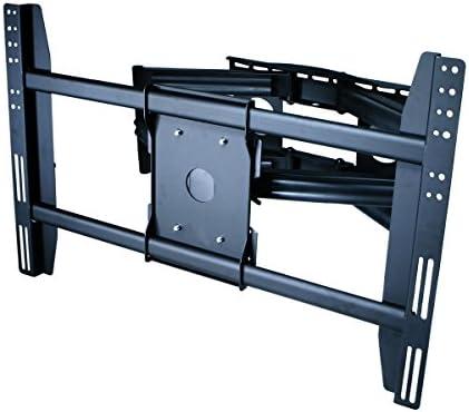 Adjustable Tilting Swiveling Wall Mount Bracket for LCD Plasma Max 200Lbs, 4…