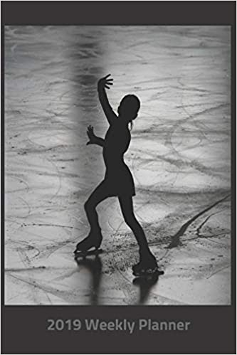 Figure Skating Calendar 2019 Amazon.com: Plan On It 2019 Weekly Calendar Planner   Ice Skating