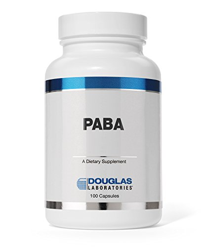 Douglas Laboratories - PABA (500 mg.) - Antioxidant Properties to Support Healthy Skin and Hair* - 100 Capsules