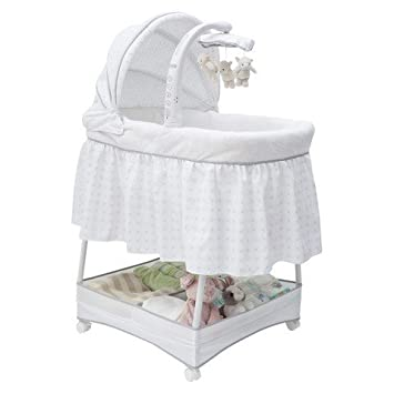 simmons bassinet. simmons kids elite gliding bassinet o
