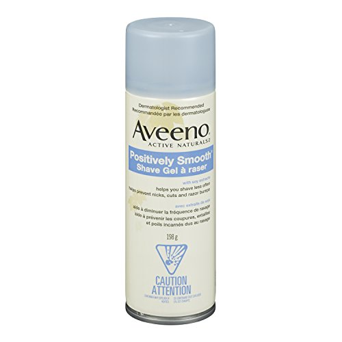 Aveeno Gel de rasage Natural Soy, 7 onces (Pack de 6)