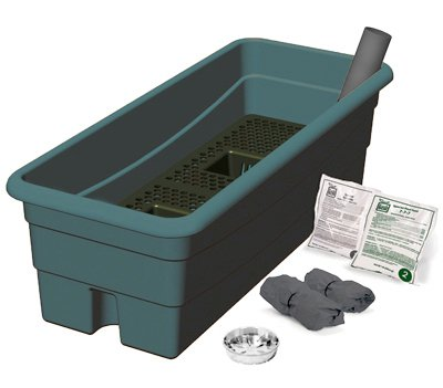 Novelty Mfg 80651 Earthbox Junior Organic Container Garden Kit, Green - Quantity 6 by Novelty Mfg