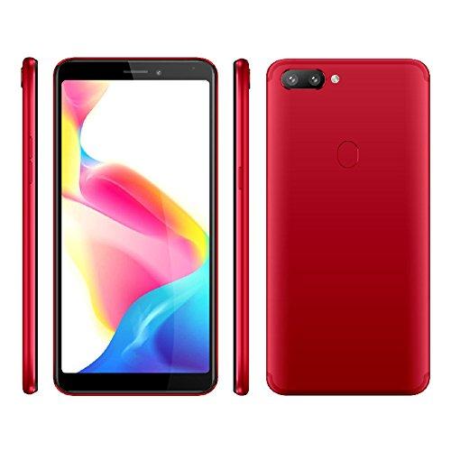 Smartphone Red Unlocked (Hanbaili 3G Unlocked Cell Phone K7-5.72
