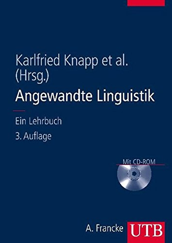 Angewandte Linguistik: Ein Lehrbuch