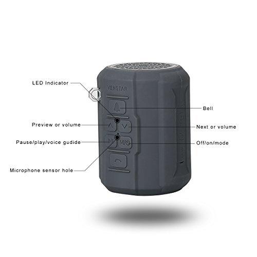Venstar S404 Wireless Bluetooth Sport Portable Speaker
