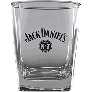 Jack Daniel's Licensed Barware Bug Swing Logo Double Old Fashioned Glass