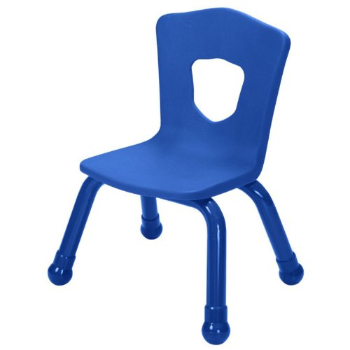 Balt Kids Chair with Steel Frame, 15-1/2-Inch, Royal Blue -