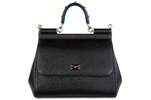 Dolce&Gabbana women's leather handbag shopping bag purse sicily dauphine - 2014 Dolce And Handbags Gabbana