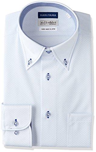 孤独海軍スクラップブック[ハルヤマ] i-Shirt 完全ノーアイロン 長袖 ボタンダウンアイシャツ メンズ M151180080