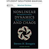 Nonlinear Dynamics and Chaos with Student Solutions Manual: Student Solutions Manual for Nonlinear Dynamics and Chaos, 2nd edition: Volume 2