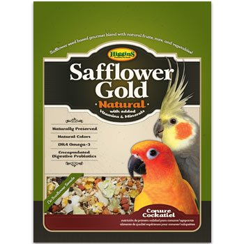 Higgins Safflower Gold Natural Food Mix for Conures and Cockatiels, My Pet Supplies