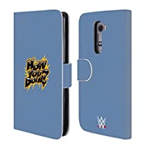 Official WWE How You Doin? Enzo And Big Cass Leather Book Wallet Case Cover For LG Nexus 5
