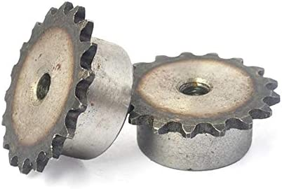 47 Teeth Sprocket Wheel Industrial Chain Gear Pitch 6.35mm 45 Steel Suitable for 04C Roller Chain FLY MEN 1Pcs 04C 25 Teeth Size : 04C 40 Teeth