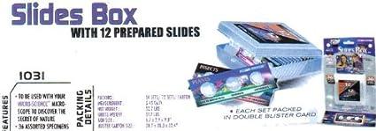 Micro-Science 12 Prepared Precision Slides wBox//36 Specimens
