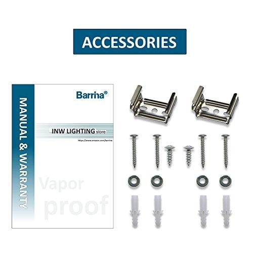 Barrina-LED-Vapor-Proof-Light-Fixture-with-2x-LED-T8-22W-44-Watt-total-Tubes-5000K-Waterproof-IP66-4-Shop-Light-Bar-For-Garage-Basement-Industry-Fluorescent-Light-Bulb-Replacement