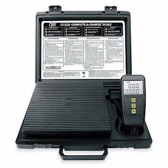 CPS Products CC220 Refrigerant Charging Scales 220 Lb Capacity