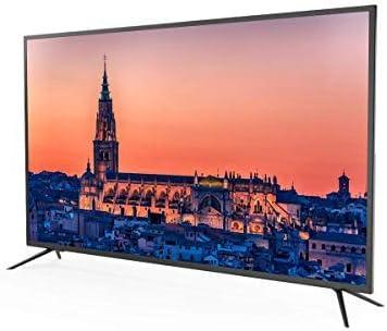 Televisor Led 55 Pulgadas Ultra HD 4K TD Systems K55DLM8U. Resolución 3840 x 2160, 3X HDMI, VGA, USB Reproductor y ...