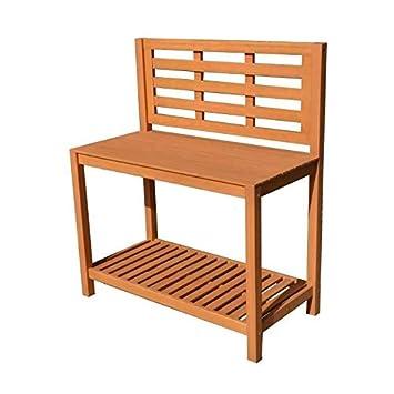 Table de plantation étagere pour jardin en acacia bois FSC - 103x51 ...