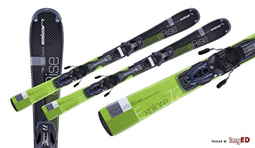 ELAN Skiboads Short skis Mini Skis Explore eRise 72 120cm with Bindings Set