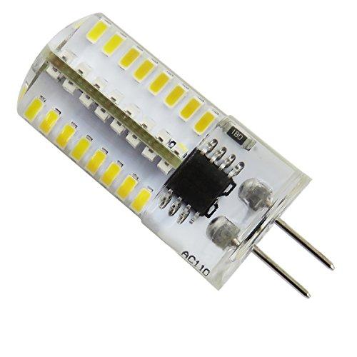 Smd Led Bulb (Pack 10,G4 LED Bulb Dimmable 110V AC 2.5W 64pcs 3014 SMD, 20W Halogen bulb equivalence Warm White 2700K-3200K)