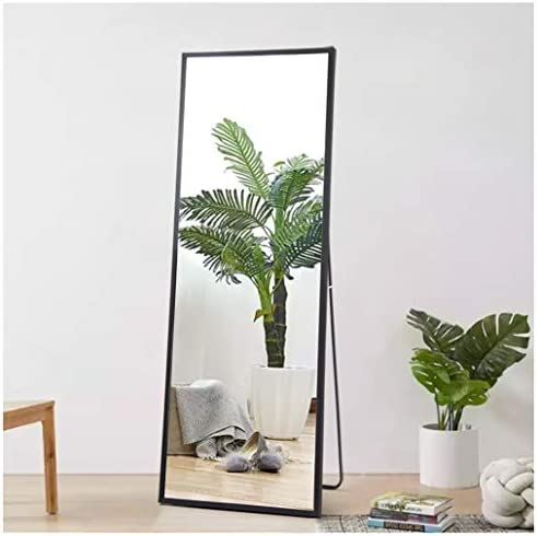 Beauty4U Full Body Mirror Full Length Floor Mirror Free Standing Black Dressing Mirror Home D cor 59 x 19.7