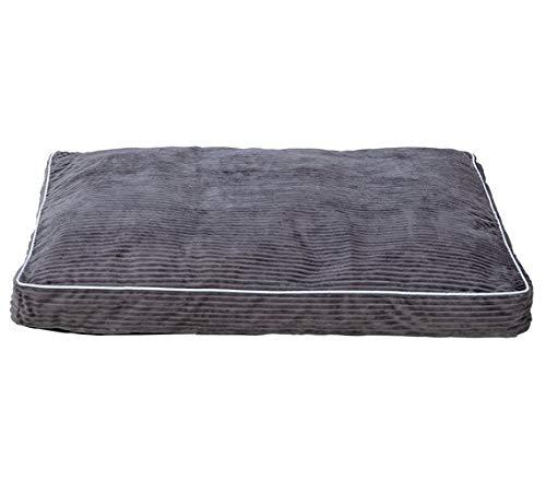 Grey Cord Pet Mattress Large
