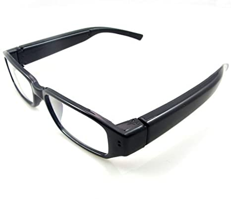 Gadget Advice 720 P HD 1280*720 Resolution Glasses Digital Video Glasses Hidden Eyewear DVR Camcorder Eyeglass