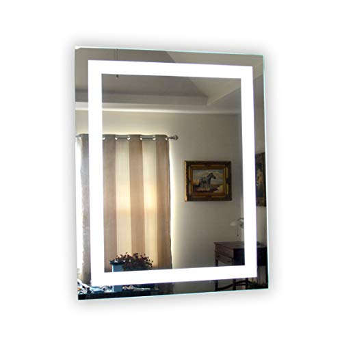 Wall Mounted Lighted Vanity Mirror MAM83240 Commercial Grade 32