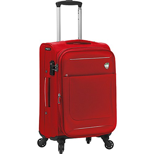 mia-toro-corvara-softside-spinner-carry-on-red