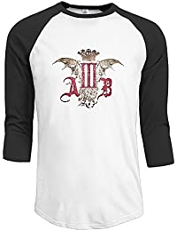 Men's Myles Kennedy Alter Bridge Funny 3/4 Sleeve Raglan Shirt
