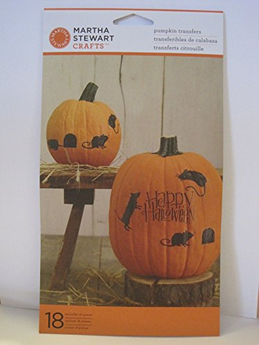 4 Person Team Costumes (Martha Stewart Crafts-Halloween Pumpkin Decorations-Transfers / Stickers - 18pc)