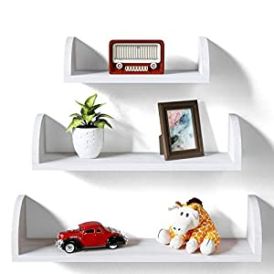 Wood Wall Shelves Books
