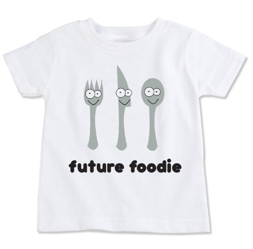 Future Foodie Cotton Toddler T-shirt (3T)