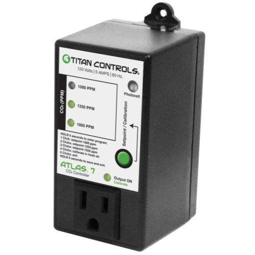 41ZyhMp5reL Titan Controls 702614 Atlas 7 Carbon Dioxide Gas Controller