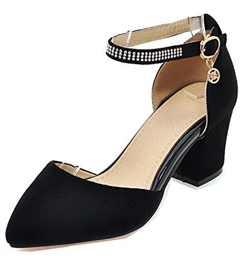 Boucle Aisun Avec Chic Escarpins Noir Bride Breloque Cheville Femme 4cw4rYq0