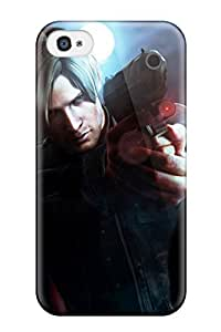 Hot Tpye Resident Evil 6 Case Cover For Iphone 4/4s