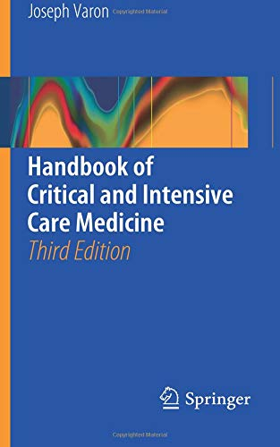 - Handbook of Critical and Intensive Care Medicine