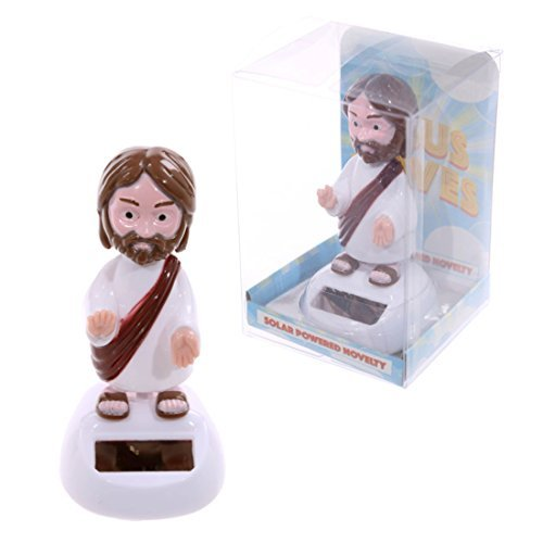 Novelty Jesus Solar Pal These Solar Pals A Perfect Gift For All The Family. Made From Plastic by Unknown