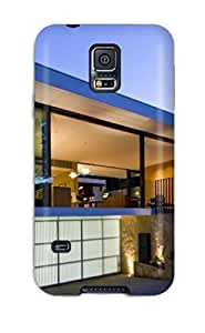 Hot XkldNLG1192ZmgiE Case Cover Protector For Galaxy S5- Modern Houses